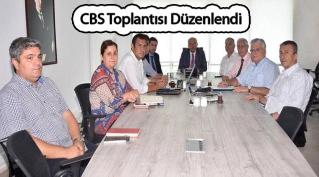 tekirdağ CBS Toplantısı Düzenlendi