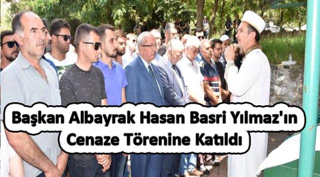 tekirdağ Başkan Albayrak Hasan Basri Yılmaz'ın Cenaze Törenine Katıldı