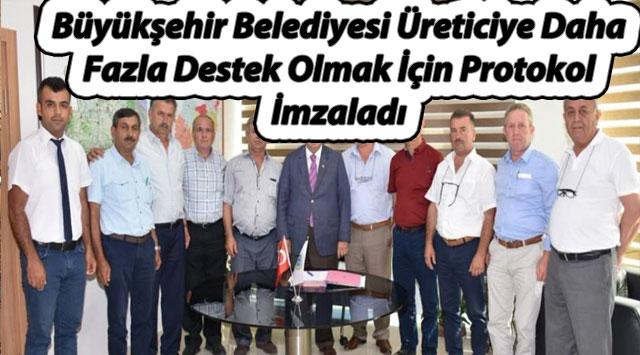 tekirdağ Büyükşehir Belediyesi Üreticiye Daha Fazla Destek Olmak İçin Protokol İmzaladı