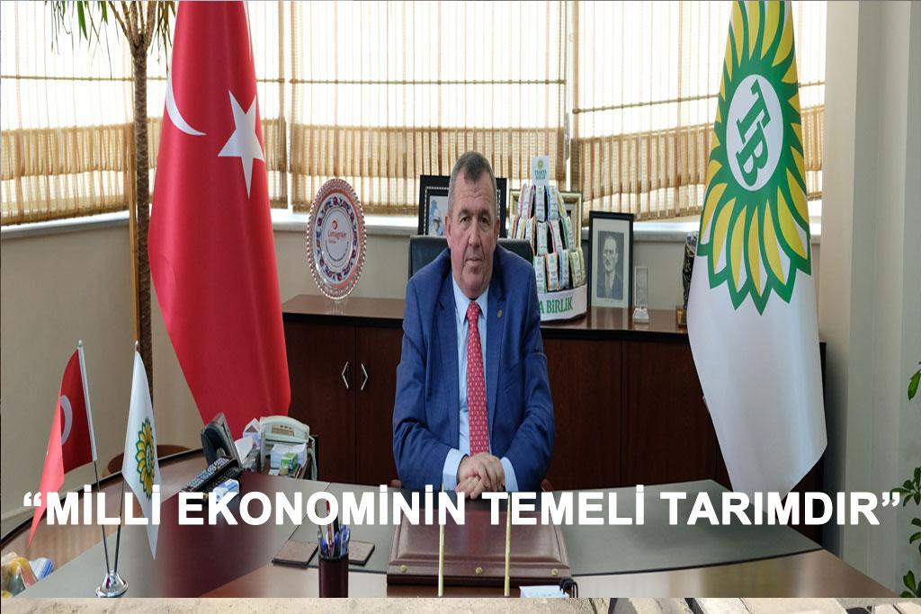 """tekirdağ """"MİLLİ EKONOMİNİN TEMELİ TARIMDIR"""""""