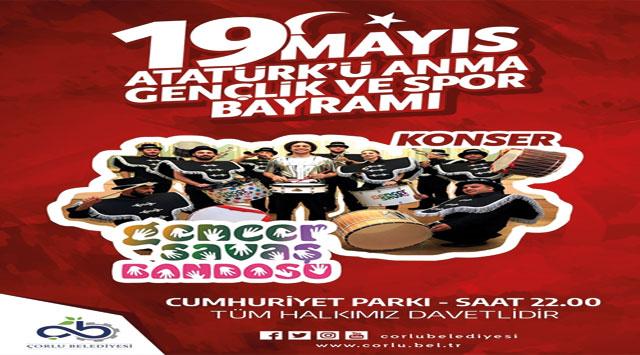 tekirdağ 19 Mayıs Atatürk'ü Anma, Gençlik ve Spor Bayramı Coşkuyla Kutlanacak