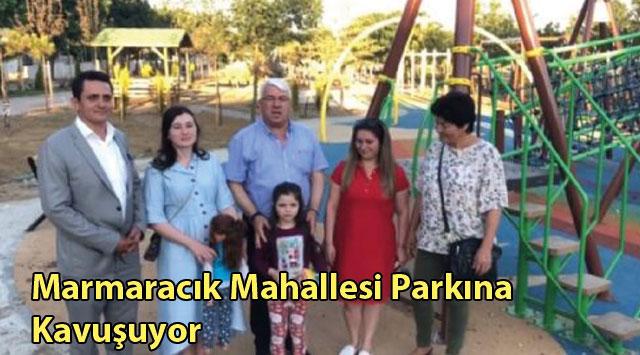 tekirdağ Marmaracık Mahallesi Parkına Kavuşuyor