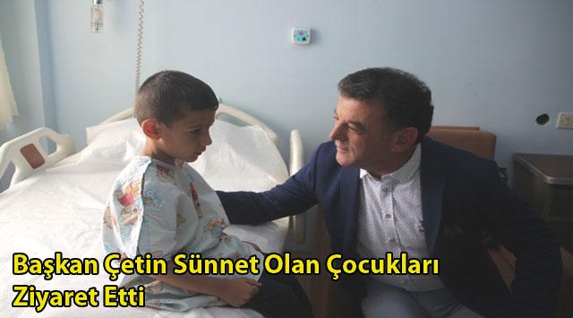 tekirdağ Başkan Çetin Sünnet Olan Çocukları Ziyaret Etti