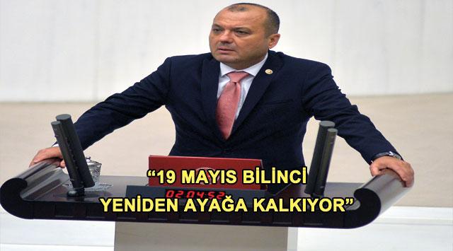 """tekirdağ """"19 MAYIS BİLİNCİ YENİDEN AYAĞA KALKIYOR"""""""
