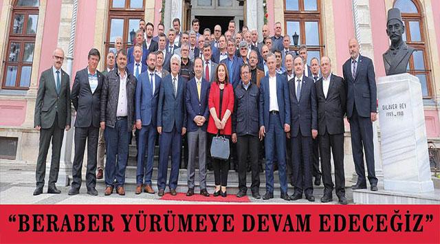 """tekirdağ  Gürkan: """"BERABER YÜRÜMEYE DEVAM EDECEĞİZ"""""""