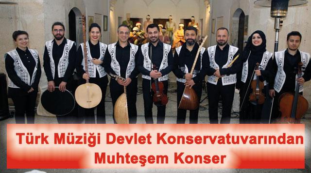 tekirdağ Türk Müziği Devlet Konservatuvarından Muhteşem Konser