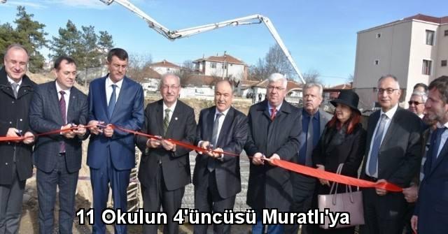 tekirdağ 11 Okulun 4'üncüsü Muratlı'ya