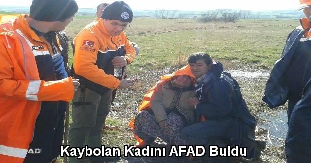 tekirdağ Kaybolan Kadını AFAD Buldu