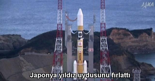 tekirdağ Japonya yıldız uydusunu fırlattı