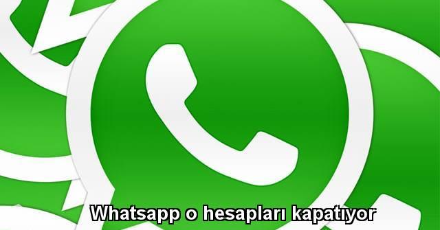 tekirdağ Whatsapp o hesapları kapatıyor