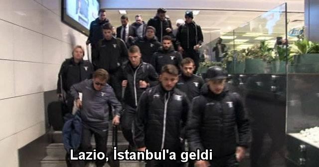 tekirdağ Lazio, İstanbul'a geldi