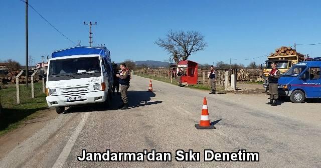 tekirdağ Jandarma'dan Sıkı Denetim