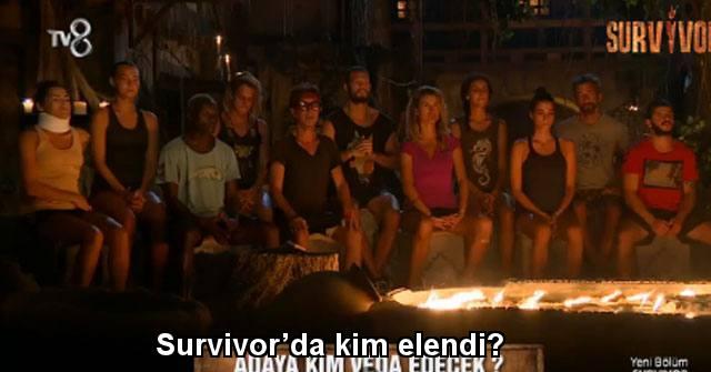 tekirdağ Survivor'da kim elendi? Survivor'da adaya kim veda etti? Survivor SMS sonuçları…