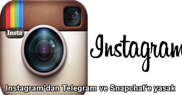 tekirdağ Instagram'dan Telegram ve Snapchat'e yasak