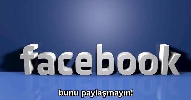 tekirdağ Facebook'ta, bunu paylaşmayın!