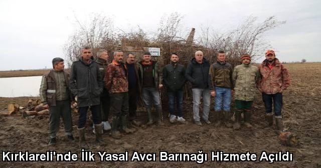 tekirdağ Kırklareli'nde İlk Yasal Avcı Barınağı Hizmete Açıldı