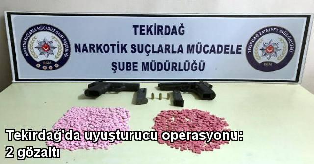 tekirdağ Tekirdağ'da Uyuşturucu Operasyonu: 2 Gözaltı