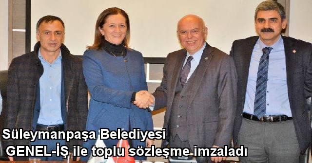 tekirdağ Süleymanpaşa Belediyesi, Genel-iş İle Toplu Sözleşme İmzaladı