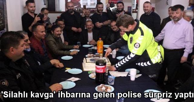 tekirdağ 'Silahlı Kavga' İhbarına Gelen Polise Sürpriz Yaptılar