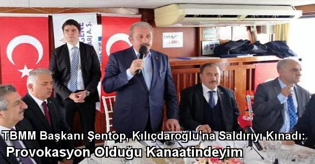 tekirdağ TBMM Başkanı Şentop, Kılıçdaroğlu'na Saldırıyı Kınadı: Provokasyon Olduğu Kanaatindeyim