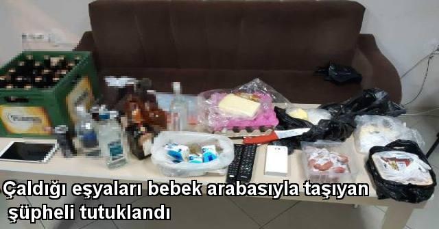 tekirdağ Çaldığı Eşyaları Bebek Arabasıyla Taşıyan Şüpheli Tutuklandı