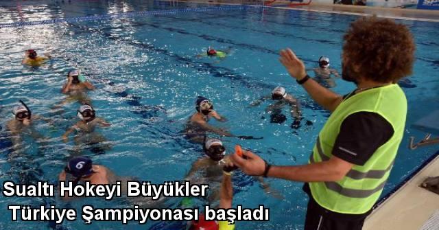 tekirdağ Sualtı Hokeyi Büyükler Türkiye Şampiyonası Başladı