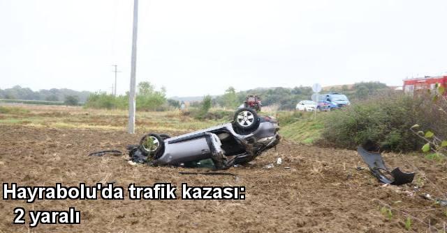 tekirdağ Hayrabolu'da trafik kazası: 2 yaralı