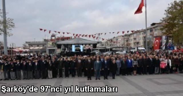 tekirdağ Şarköy'de 97'nci Yıl Kutlamaları