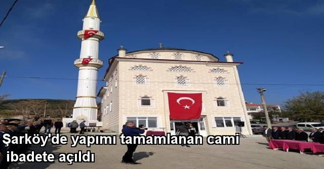 tekirdağ Şarköy'de Yapımı Tamamlanan Cami İbadete Açıldı