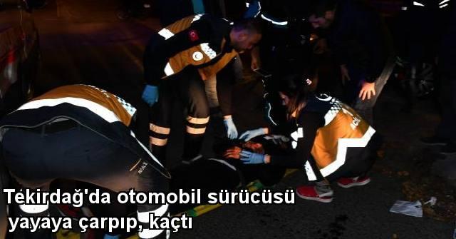 tekirdağ Tekirdağ'da Otomobil Sürücüsü Yayaya Çarpıp, Kaçtı