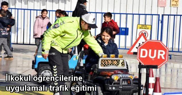 tekirdağ İlkokul Öğrencilerine Uygulamalı Trafik Eğitimi