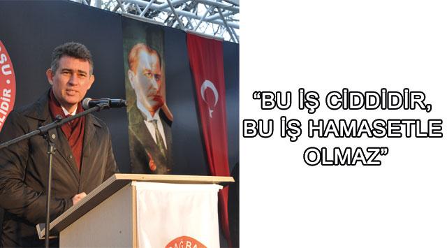 tekirdağ Barolar Birliği Başkanı Feyzioğlu: