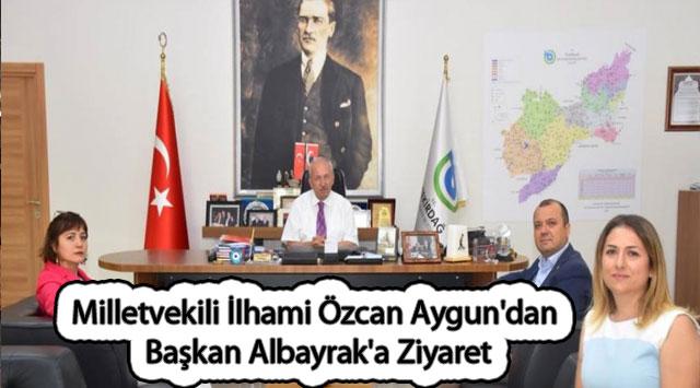 tekirdağ Milletvekili İlhami Özcan Aygun'dan Başkan Albayrak'a Ziyaret