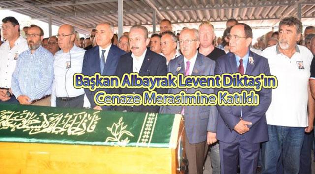 tekirdağ Başkan Albayrak Levent Diktaş'ın Cenaze Merasimine Katıldı