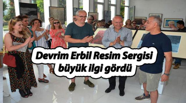 tekirdağ Devrim Erbil Resim Sergisi büyük ilgi gördü