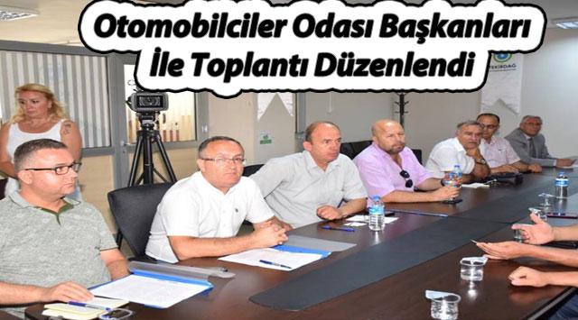 tekirdağ Otomobilciler Odası Başkanları İle Toplantı Düzenlendi