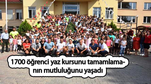 tekirdağ 1700 öğrenci yaz kursunu tamamlamanın mutluluğunu yaşadı