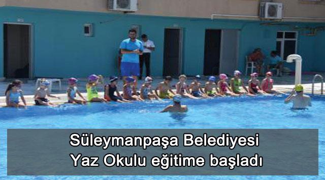 tekirdağ Süleymanpaşa Belediyesi Yaz Okulu eğitime başladı